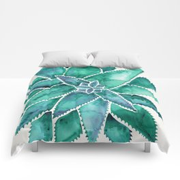 Aloe Vera – Turquoise Palette Comforters