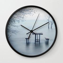 West Point, Sandbanks Wall Clock
