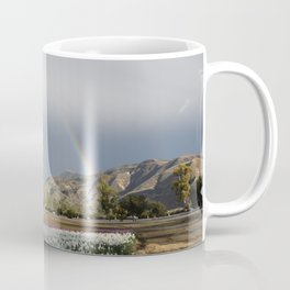 Rainbow South Mountain, Santa Paula California Coffee Mug