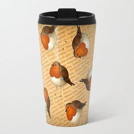 Chubby Erithacus Travel Mug