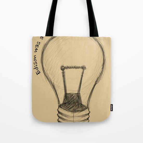 The Lord works in mysterious ways Tote Bag