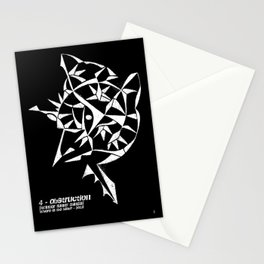 - obstruction - Stationery Cards