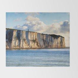 Cretaceous rocks of Dover Throw Blanket