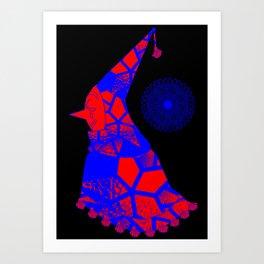 CLWN Art Print