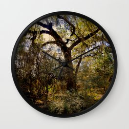 Forest Trail Wall Clock