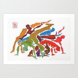 Capoeira 237 Art Print