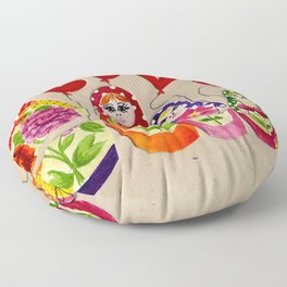 From Russia with Love Russian Dolls Floor Pillow