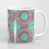 arabic Mugs featuring Arabic art  by MinaSparklina