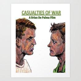 Casualties of War Art Print