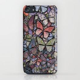 butterflies galore grunge version iPhone Case