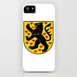 flag of weimar iPhone Case