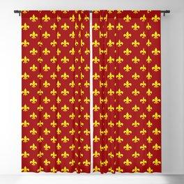 Breton fleur-de-lis. Blackout Curtain