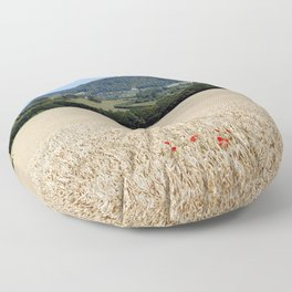 Lonesome Poppies Floor Pillow