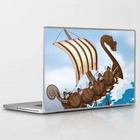 vikings Laptop & iPad Skins featuring The Vikings by Nick's Emporium Gallery