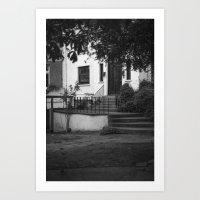 Hidden house Art Print