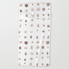 butts Beach Towel