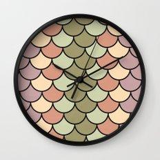 Beach Palette Wall Clock