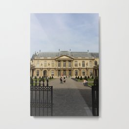 Archives nationales, Paris, France Metal Print