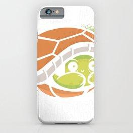 Turtle Jiu Jitsu Humor iPhone Case