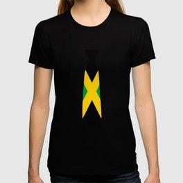 Jamaica Patriotic Tie Tshirt T-shirt