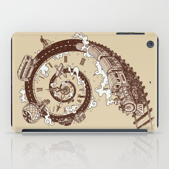 Time Travel iPad Case