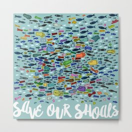 Save Our Shoals Metal Print