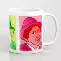 marx Mugs featuring The Trinity by Rachcox
