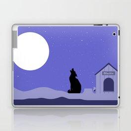 Moon Dog Laptop & iPad Skin