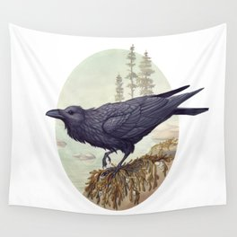 Raven of the North Atlantic Wall Tapestry