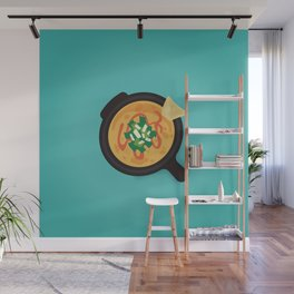 Q is for Queso Wall Mural
