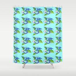 Leafy Sea Dragon Shower Curtain