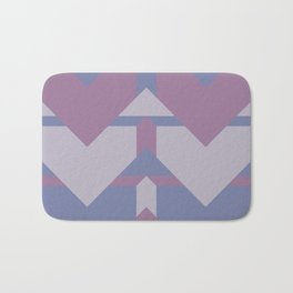 Violet Directions #society6 #violet #pattern Bath Mat