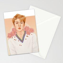 lotus [sehun exo] Stationery Cards
