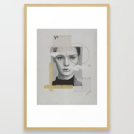 Destroy your own art Framed Art Print