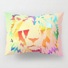 Rainbow Lion Pillow Sham