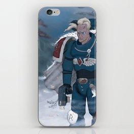 Warhammer 40,000 Space Wolf Marine iPhone Skin