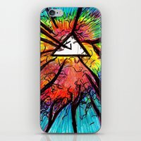 floyd iPhone & iPod Skins featuring Floyd Forest by TheSeed91