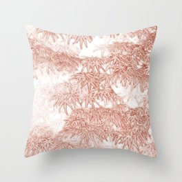Momiji Pattern Throw Pillow