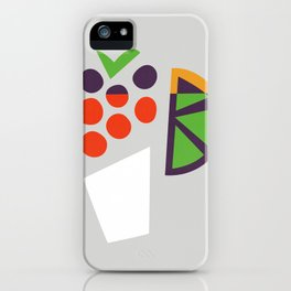 Berry Cocktail iPhone Case