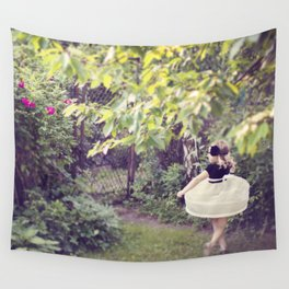 Mysterious Garden Wall Tapestry