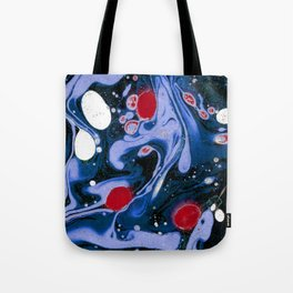 Marble Night Tote Bag