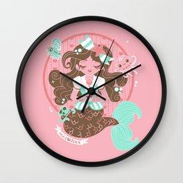 Royal Milk Sea Wall Clock