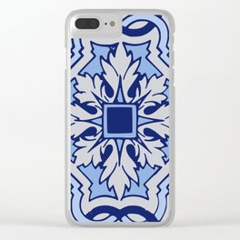 Classic Spanish Clear iPhone Case