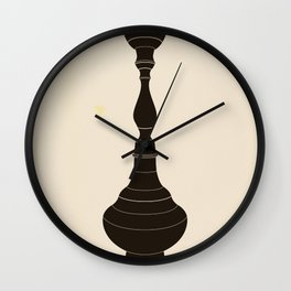 Of Middle Eastern Appearance Wall Clock