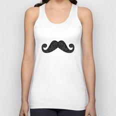 Dia De Los Mustache Unisex Tank Top
