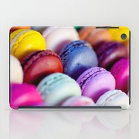 macaroons iPad Cases featuring Macaroons by rosita