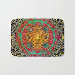 Aztec Sun God Bath Mat