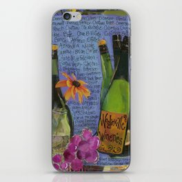 WOODINVILLE WINERIES iPhone Skin