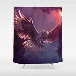 Strix Owl Shower Curtain
