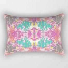 Crazy Hibiscus Rectangular Pillow